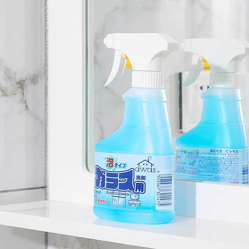 Chai xịt rửa kính Rocket Glass Clean 300ml Hàng Nhật