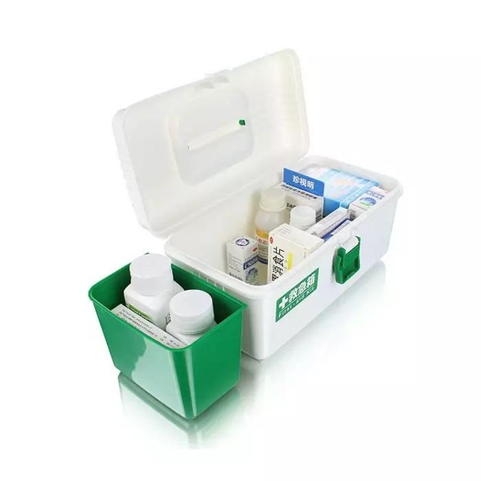 Hộp đựng thuốc và dụng cụ y tế chăm sóc sức khỏe gia đình - Nội Địa Nhật Bản