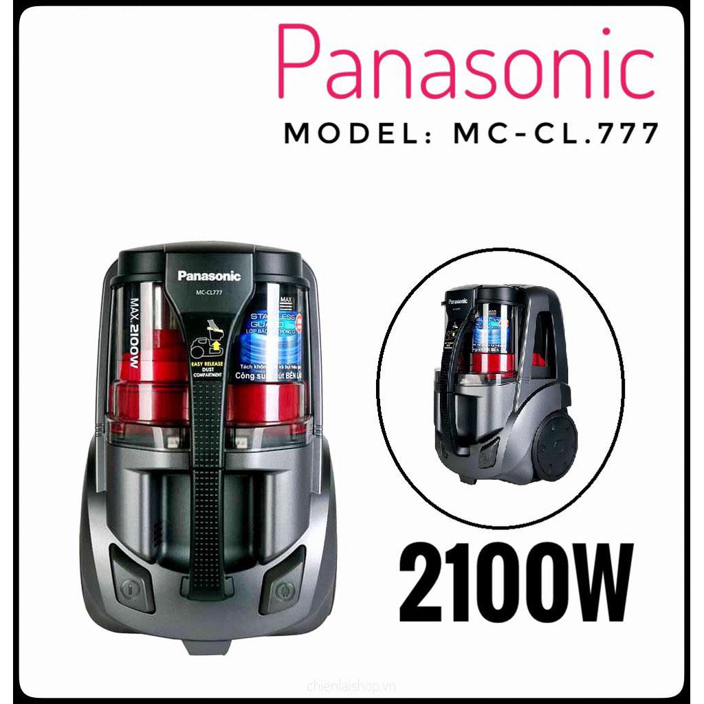 Máy hút bụi Panasonic MC-CL777HN49 công suất 2100W sản xuất Malaysia - Hàng chính hãng bảo hành 12 tháng