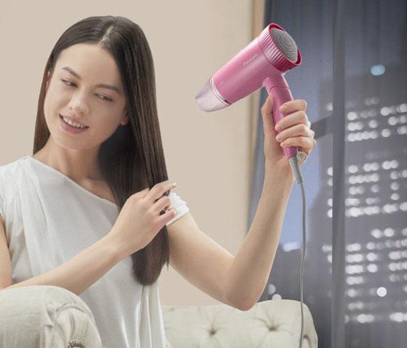 Máy sấy tóc siêu êm cao cấp Panasonic EH-ND57PH645 độ ồn 55dB