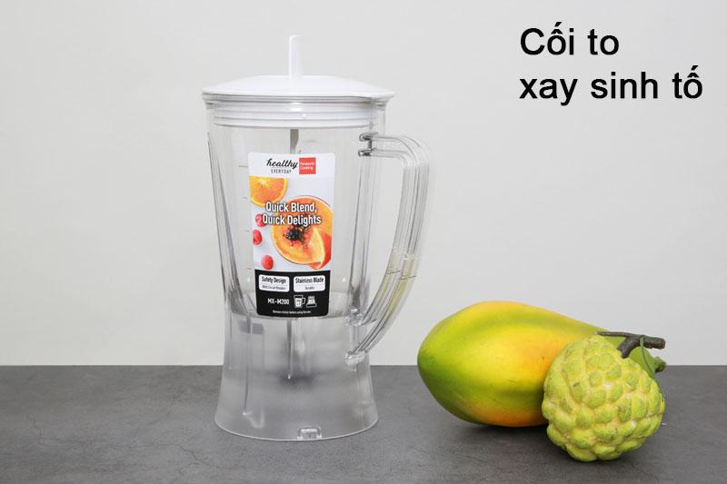 Máy Xay Sinh Tố Panasonic MX-M100 (450W - 1.0 Lít) - Hàng Chính Hãng