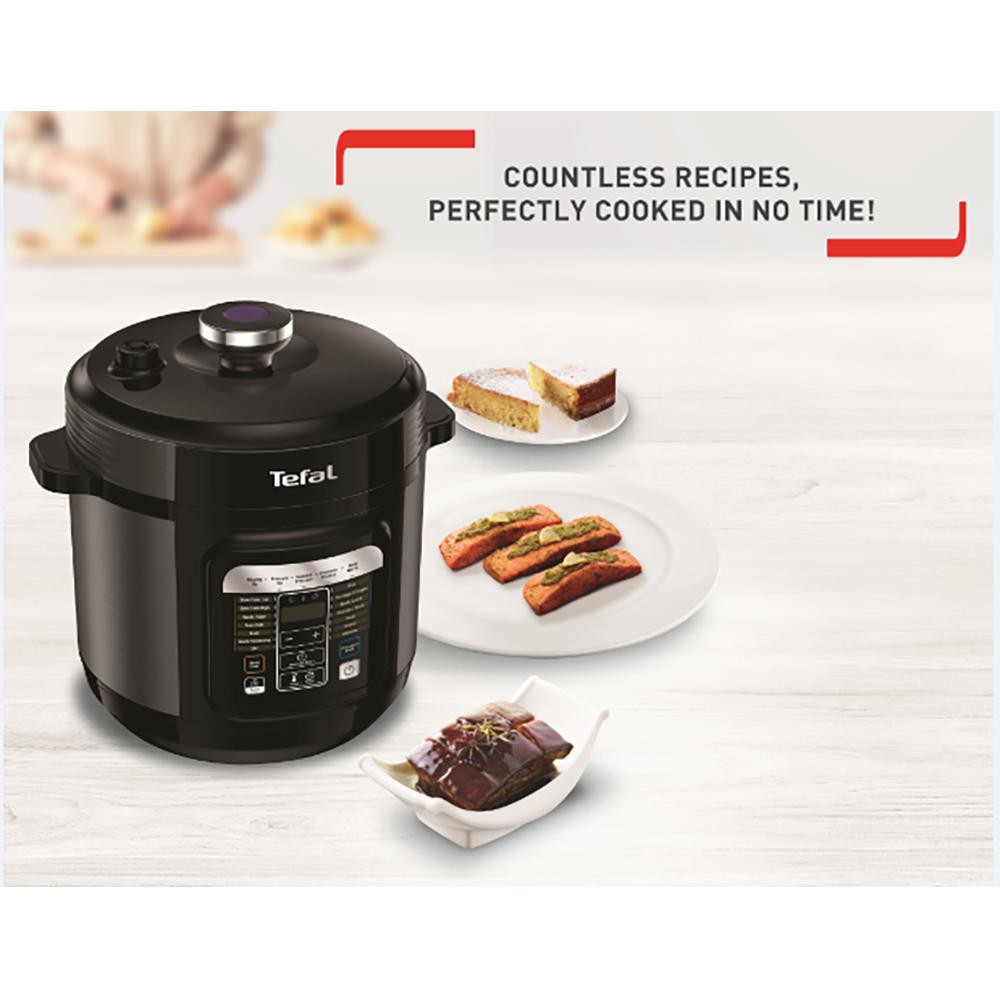 Nồi áp suất điện tử 6 lít Tefal Home Chef CY601868 hàng chính hãng, bảo hành 12 tháng