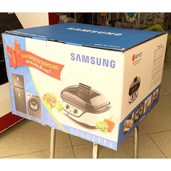 Nồi lẩu điện đa năng 8 trong 1 Elmich 4023517 KM Samsung, bảo hành 12 tháng