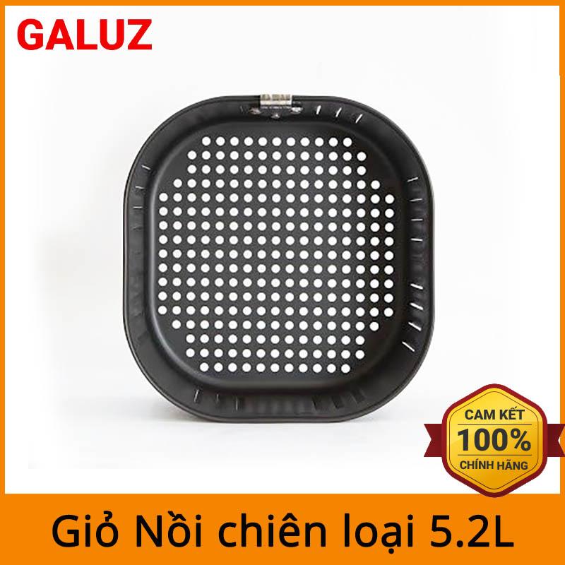Giỏ nồi chiên không dầu Galuz dùng cho loại nồi chiên Galuz, Lock&lock 5.2L (không bao gồm tay cầm)