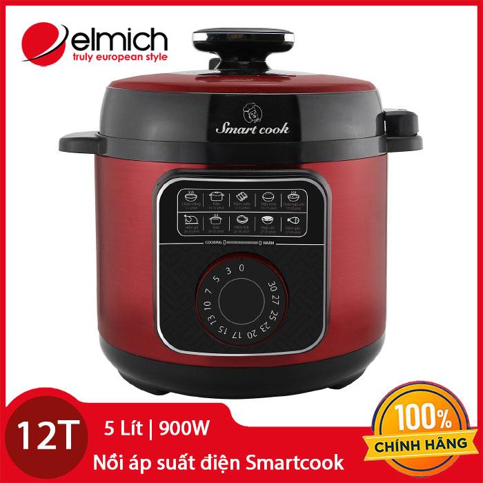 Nồi áp suất điện 5 Lít Smart Cook Pressure Cooker PCS-1800