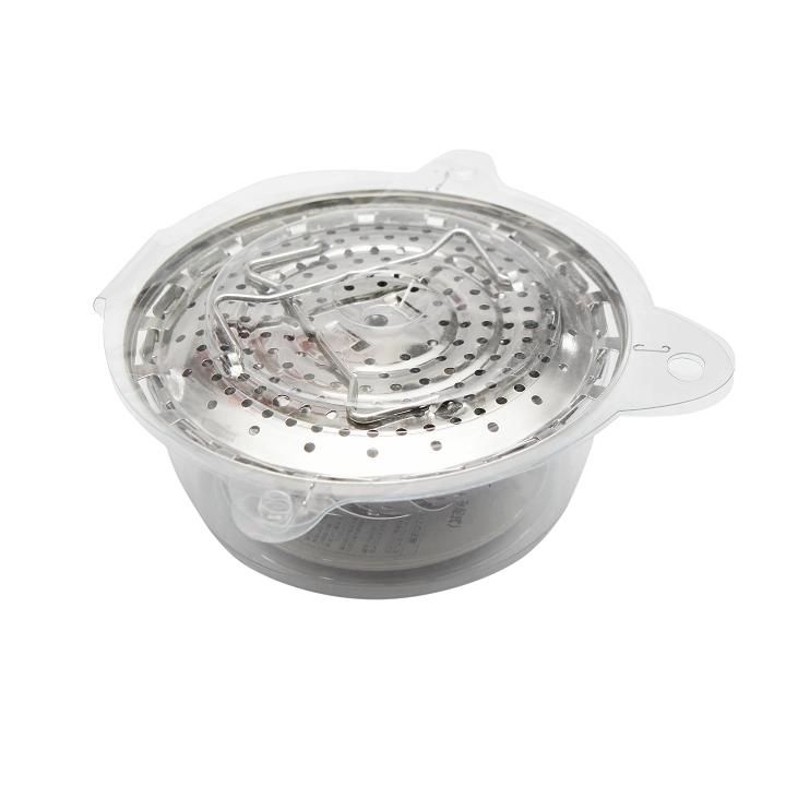 Vỉ hấp inox 24cm gấp gọn thông minh hàng Nhật Pearl Metal C-3784