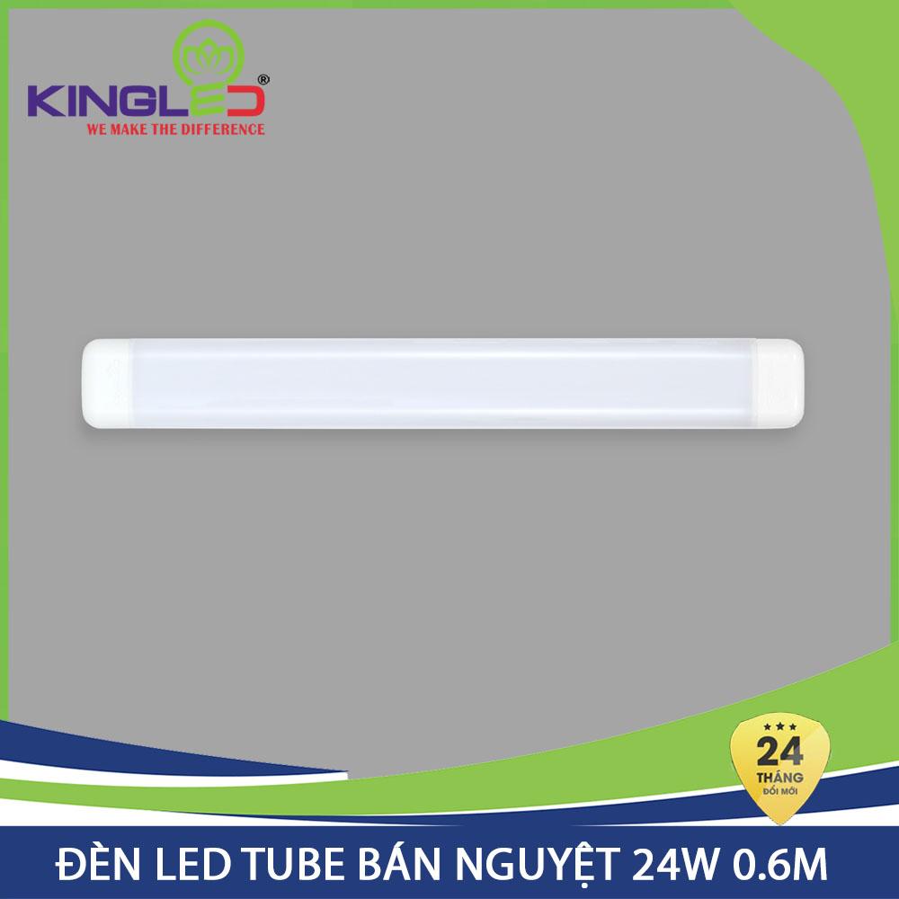 Đèn Led Tube bán nguyệt Kingled 24W 0.6m chính hãng, bảo hành 24 tháng (TBN-24-60)