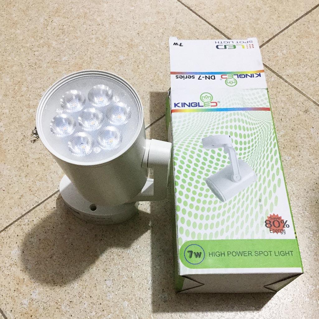 Đèn LED Kingled Rọi ngồi DN-7-T tiết kiệm điện 7w màu trắng