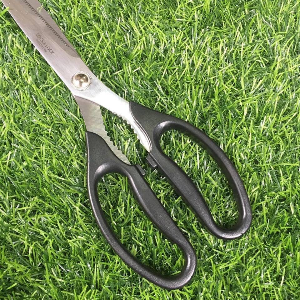 Kéo cắt gà kéo nhà bếp kéo cắt thịt nướng Lock&Lock F00096