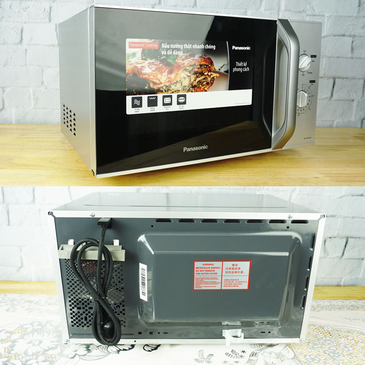 Lò vi sóng có nướng Panasonic NN-GM34JMYUE công suất 1000W dung tích 23L