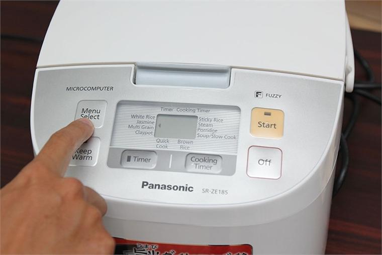 Nồi Cơm Điện Tử Panasonic SR-ZE185 (1.8 Lít)