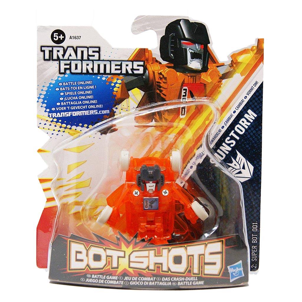 Đồ chơi Robot Transformer mini Bot Shots - Sunstorm (Box)