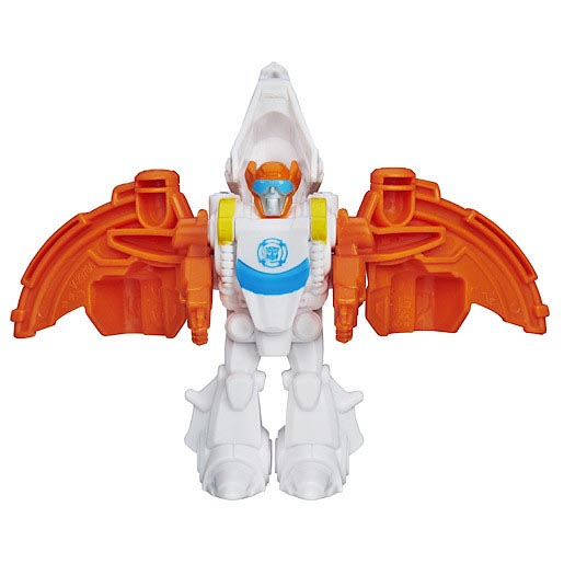 Robot Transformers Playskool Heroes Rescue Bots Blades the Rescue Dinobot (Box)