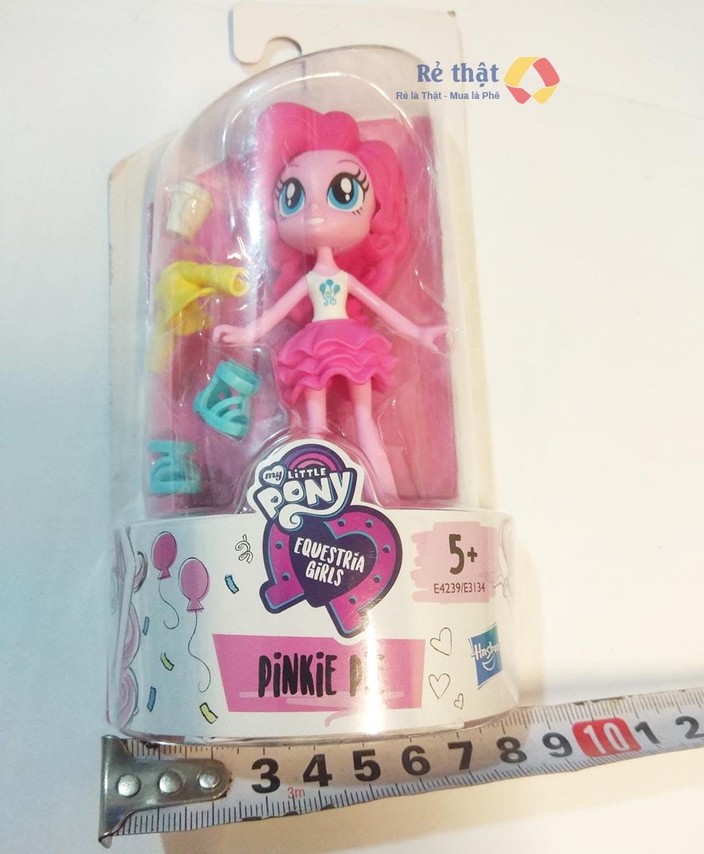 Búp bê My Little Pony Minis Modne cô gái Equestria Pinkie Pie (Box)