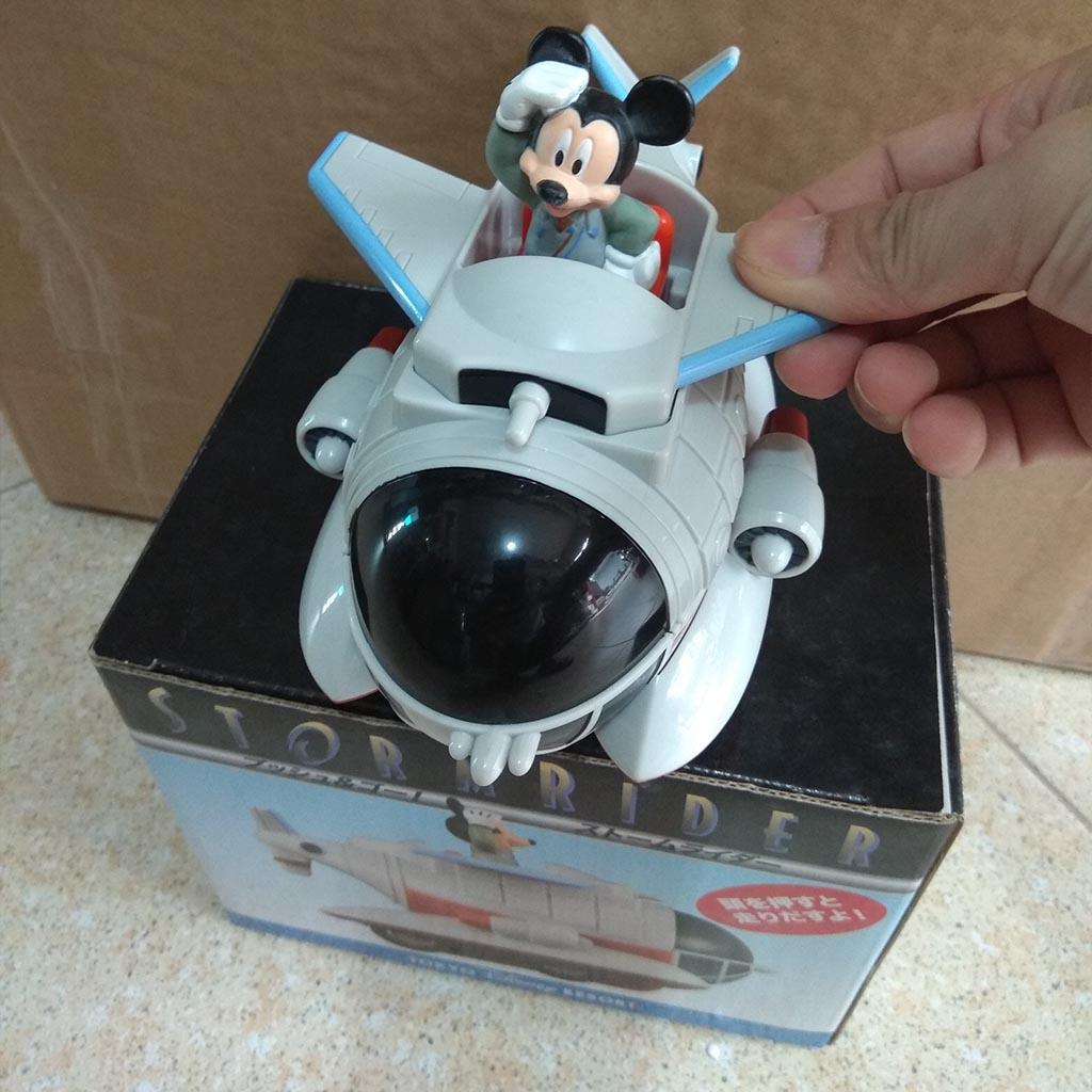 Mô hinh máy bay Storm Rider Disney Tokyo Resort Mickey Mouse chạy cót